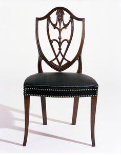 Chair, 1800, John Townsend (Cabinetmaker), Joseph Li Volsi (Upholsterer) Winterthur museum.