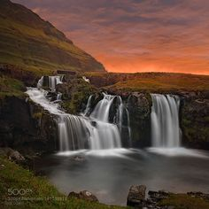 Kirkjufellfoss by frank_delargy via http://ift.tt/1Y1Lzrl