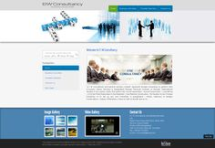 Project Name: EIW Consultancy Website: www.eiwconsultancy.com Design Package: Corporate Blue Price: BDT 8,500.00