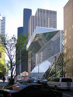 Seattle, bibliotheek Rem Koolhaas