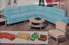 1958 Palomino Plastic Furniture