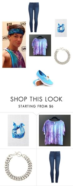 """""""dress up like Bandana boy AKA Taylor Caniff"""" by peace-girl23 ❤ liked on Polyvore featuring Urban Renewal, Yves Saint Laurent, Paige Denim, Vans, women's clothing, women's fashion, women, female, woman and misses"""
