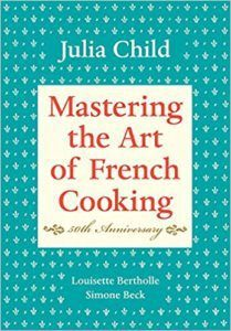 """Mastering the Art of French Cooking"" by Julia Child. The most delicious boeuf bourguignon recipe ever! Julia Child Cookbook, Julia Child Book, Kids Cookbook, Cookbook Ideas, Cookbook Recipes, How To Cook Everything, Nora Ephron, Thing 1, Livros"