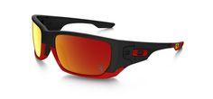 Oakley Special Edition Scuderia Ferrari® Style Switch - Matte Black/Ruby Iridium