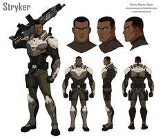 ArtStation - Stryker, Steven Wayne Ellison