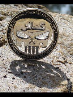 Infidel Challenge Coin