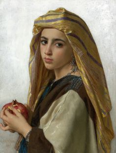 William Bouguereau (1825-1905), L'Orientale à la grenade