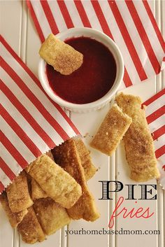 What to do with your leftover pie crust dough - Make Pie Fries! #recipes,#piedough