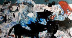 "Saatchi Art Artist Rusudan Khizanishvili; Painting, ""Migration to the Hidden Place"" #art"