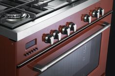 ELBA Classic Cooker RED (ROSSO in Italian), detail