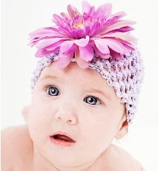 crochet beanie hats with flower