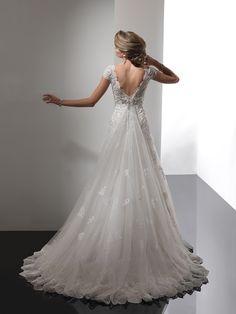 Ivory Sottero and Midgley Wedding Dress Shanna: Dimitradesigns.com