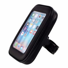 Universal Waterproof Motorcycle Bike Bicycle Band  Handlebar Mount Holder Case GPS For Smartphone Cell Phone