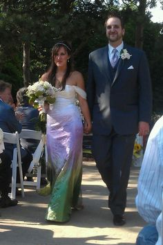 Wai Ching wedding dress, this is my son and his lovely bride....