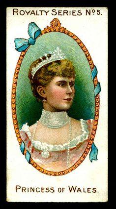 Cigarette Card - Princess of Wales by cigcardpix, via Flickr