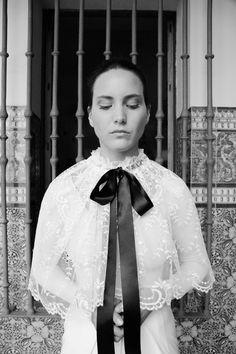 White Chiara / White Blosson  #wedding #weddingdrees #bridal #bride #novias #atelier #vintage #whitegatache #whiteichiara #noviasdiferentes #noviasespeciales #style #lovevintage