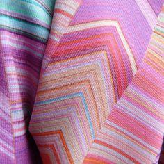 https://flic.kr/p/Eka214 | CRAZY CHEVRONS Pink closeup | Print on Modern Jersey. Closeup www.spoonflower.com/fabric/4694208-crazy-chevrons-arrows-...