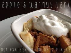 Apple & Walnut Tart - the Breakfast Hub