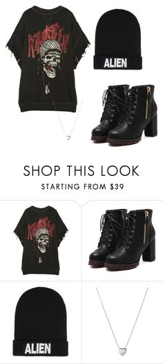 """""""Untitled #73"""" by halissiaelviracra on Polyvore featuring R13, Nicopanda and Links of London"""