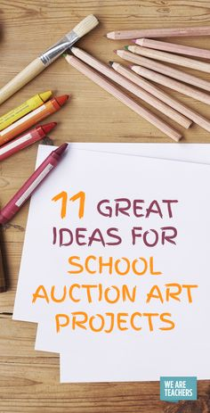 Has your class been commissioned to create an art project for the school auction? We love these simple but beautiful school auction art projects. Collaborative Art Projects For Kids, Group Art Projects, Preschool Art Projects, Classroom Projects, Art Classroom, Classroom Ideas, Simple Art Projects, Kids Crafts, Preschool Ideas