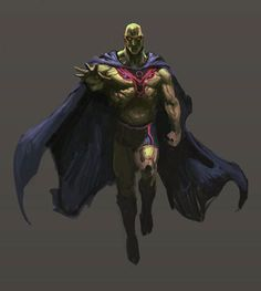Martian Manhunter by Davkoko