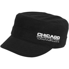 be077a3666c97e '47 Brand Chicago White Sox Ladies Janet Adjustable Military Hat Black  Order, Chicago White