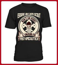 Essere un Capo Scout - Shirts für zelter (*Partner-Link)
