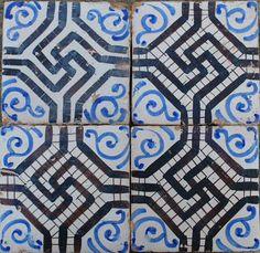 Maganese Majolica - 1900 - Ceramic Tiles