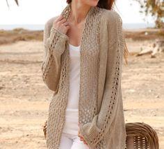 Crochet Light Weight Jacket Free Pattern