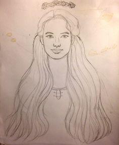 This story's missing a wishing well. Susan Pevensie, Lucy Pevensie, Manga Drawing, Manga Art, Narnia 3, European Costumes, Manga Anime Girl, The Valiant, Wattpad