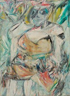 1952 Willem de Kooning (American artist born in the Netherlands, 1904–1997) Woman II