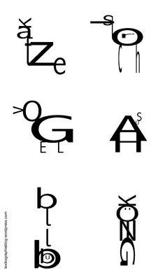 visuelle Wörter