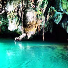 Underground river in Palawan, Philippines