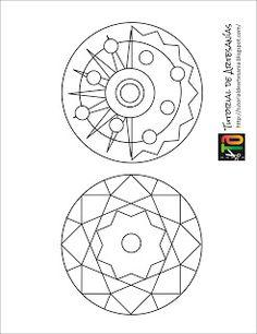 Tutorial de Artesanías: Mandalas con CDs Mandalas Painting, Mandalas Drawing, Zentangles, Design Tattoo, Orange Cats, Craft Wedding, Next At Home, Types Of Art, Mandala Design