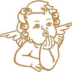 ANJO VAZADO 20CM Art Drawings Sketches, Tattoo Drawings, Cherub Tattoo, Arte Fashion, Red Ink Tattoos, Angel Drawing, Illustrator, Tattoo Flash Art, Stencil Patterns