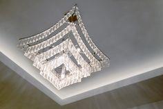Ceiling Pendant in Lobby   JHR Interiors