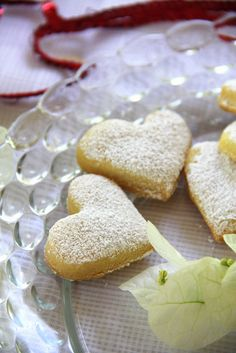 Melt in your Mouth Hearts - these cookies keep very well - up to two weeks in airtight container.