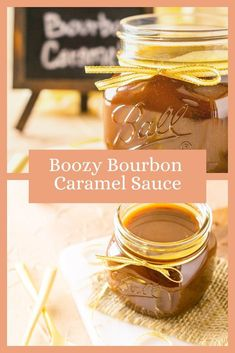 Give any dessert a boost with this easy homemade bourbon caramel sauce. This bourbon caramel sauce is perfect for drizzling over ice cream or your favorite baked good. For any boozy dessert lover, this bourbon caramel sauce is just what they need. #bourboncaramel #whiskeycaramel #bourboncaramelsauce #easycaramelsauce #homemadecaramelsauce #boozydesserts #bourboncaramelsauceeasy Caramel Sauce Easy, Bourbon Caramel Sauce, Homemade Caramel Sauce, Best Frosting Recipe, Frosting Recipes, Fun Desserts, Dessert Ideas, Dessert Recipes, Bubble Recipe