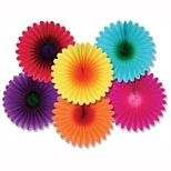Our vibrant Mini Flower Fans are a great decoration for Easter, Mother's Day, or a Luau party. Hang several around for a colorful scene or add them to displays or party table fans per packageSize: out of tissue paperAssorted colors Tissue Flowers, Hot Pink Flowers, Retro Flowers, Paper Flowers, Hanging Flowers, Fan Decoration, Hanging Decorations, 70s Party Decorations, Rainbow Decorations