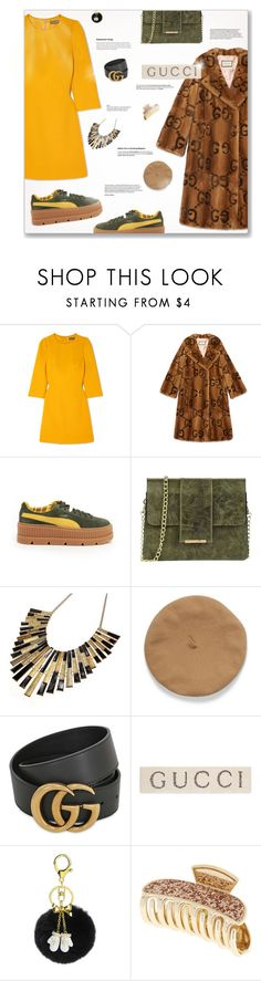 """""""- What to wear: Gucci -"""" by fashionablemy ❤ liked on Polyvore featuring Dolce&Gabbana, Gucci, Puma, Tuscany Leather and gucci"""
