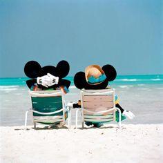 Mickey and Minnie Vacationing!☀