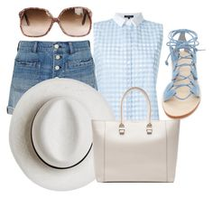 """""""Summer"""" by fashionrushs ❤ liked on Polyvore featuring Cornetti, Madewell, Loveless, Calypso Private Label and Victoria Beckham"""