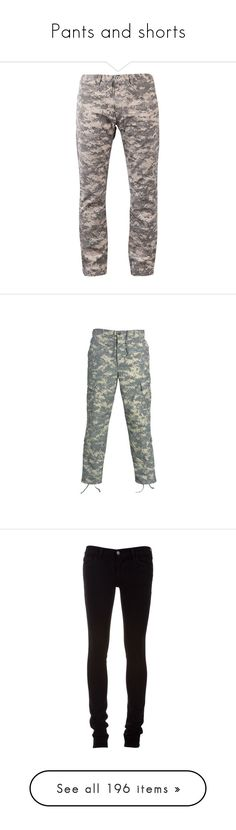 """Pants and shorts"" by flamingfirewolf ❤ liked on Polyvore featuring men's fashion, men's clothing, men's pants, men's casual pants, mens slim fit camo pants, mens slim pants, mens slim fit pants, mens camouflage pants, mens zipper pants and pants"