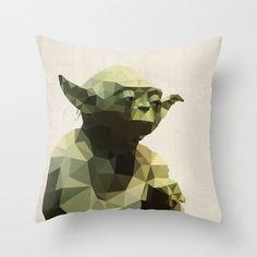 Yoda Star Wars Pillow Cushion Cover