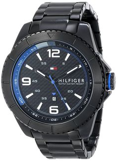 Tommy Hilfiger Men's 1791001 Stainless Steel Watch ** Read more reviews of the watch by visiting the link on the image.