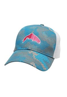 ae316ac855d Shop the blue Camo Hex hat from to support CfR! Casting for Recovery