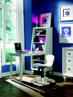 Desk from the Zoe collection from Lea Furniture.