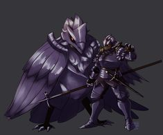 Probably my favorite Pokemon in the trailer, I decided to make a Corviknight gijinka. YEAH I KNOW THE BIRD IS TOO SMALL, this is for good looking badass. The Knight and Corviknight Gijinka Pokemon, Badass, Knight, How To Look Better, Darth Vader, Cosplay, Deviantart, Gallery, Illustration