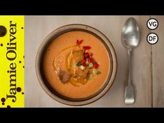 The only soup for summer! Omar's delicious, fresh and chilled gazpacho soup recipe will take you straight to the hills of sunny Spain.
