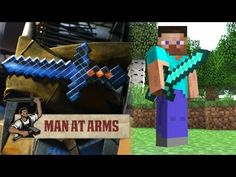 Ok this is amazing! This guy forges a diamond sword from Minecraft! I want one!  http://www.break.com/index/man-at-arms-forging-the-diamond-sword-from-minecraft-2436512
